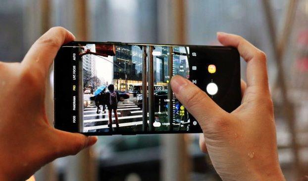 fotografia teléfono móvil